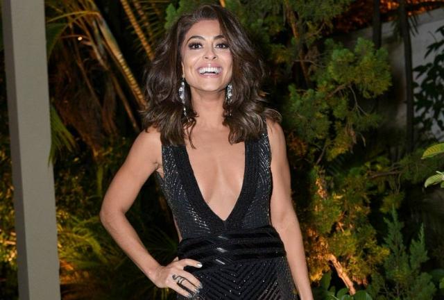 A atriz Juliana Paes