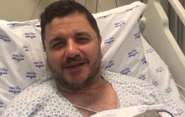 Maurício Manieri se recupera de infarto e agradece carinho dos fãs