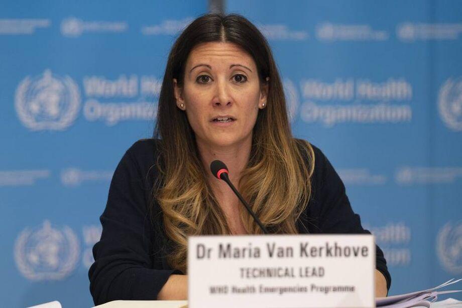 A líder técnica da OMS, Maria Van Kerkhove