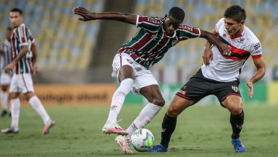 Luiz Henrique, atacante do Fluminense