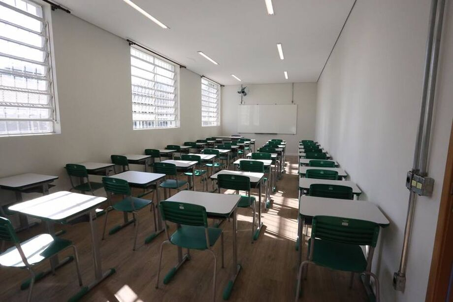 Início terá só 20% dos alunos