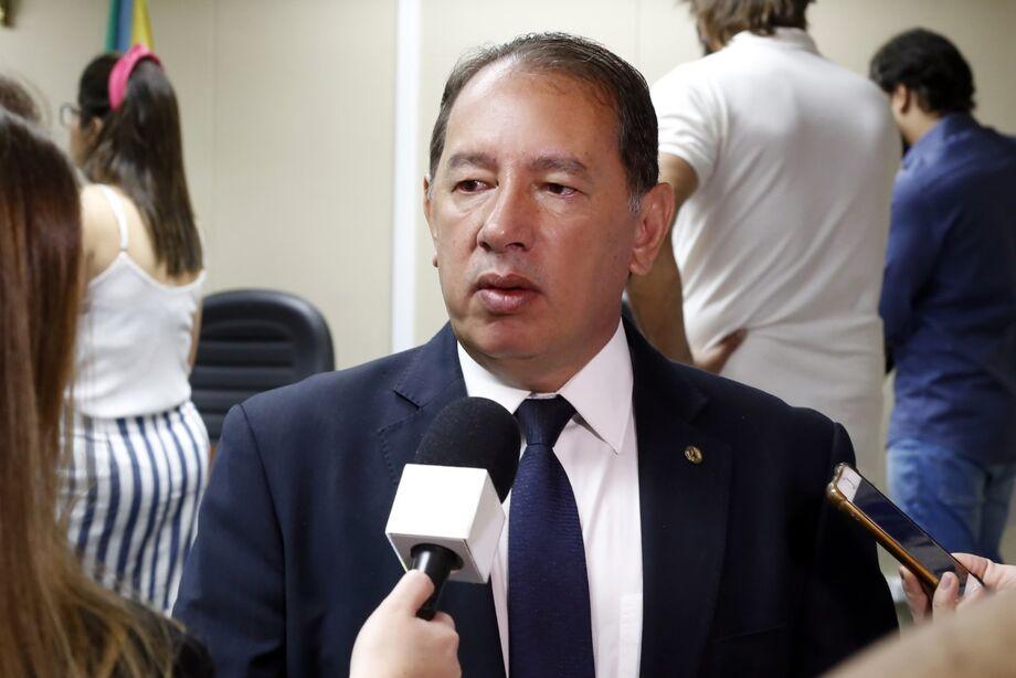O líder do Governo na Assembleia Legislativa, deputado Gerson Claro (Progressistas)