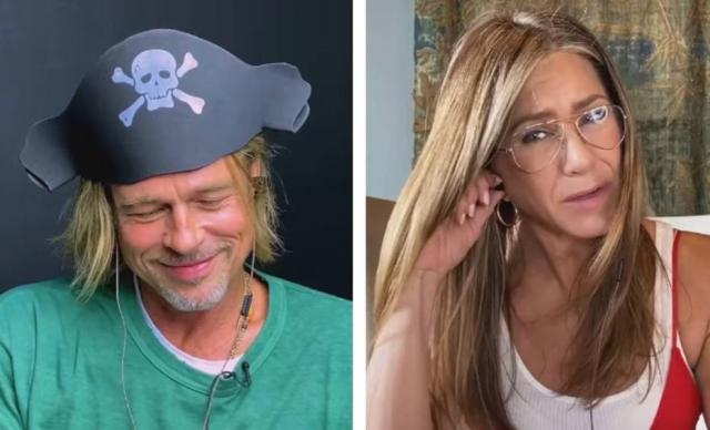 Brad Pitt e Jennifer Aniston