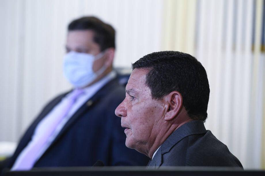 O vice-presidente Hamilton Mourão foi convidado por uma comissão temporária