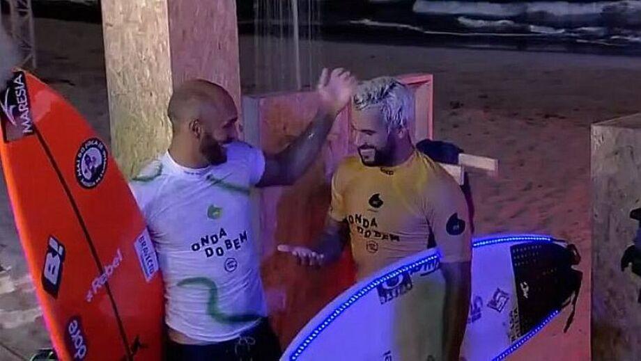 O Onda do Bem foi a primeira competição de surfe no Brasil depois do início da pandemia do novo Coronavírus