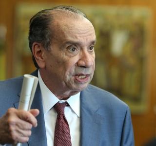 Ex-ministro das Relações Exteriores, Aloysio Nunes