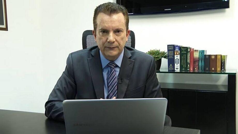 No vídeo republicado pelo presidente, Celso Russomanno defende atuação do Ministério da Justiça e responde deputado Kim Kataguiri (DEM-SP)