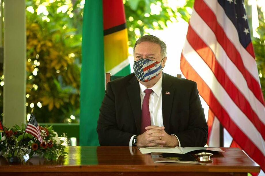 Secretário de estado dos Estados Unidos, Mike Pompeo