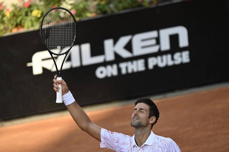 Em partida com público, Djokovic vence Casper Ruud e busca quinto título em Roma
