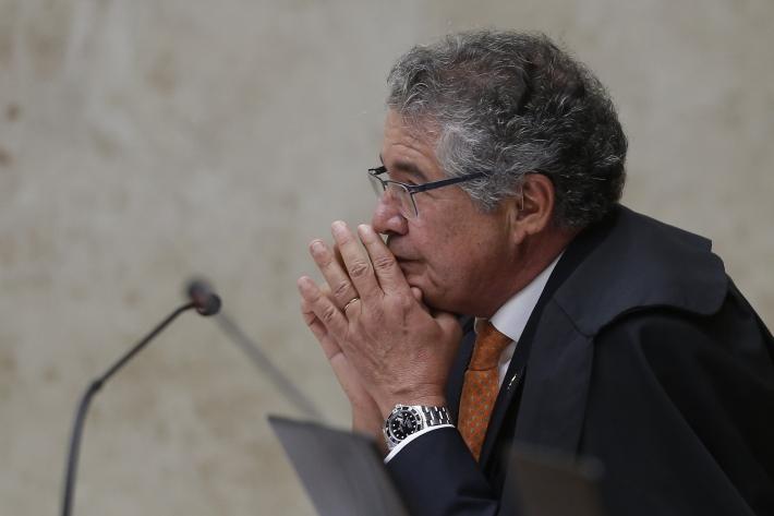 O ministro do Supremo Tribunal Federal, Marco Aurélio Mello