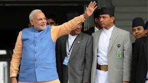 O primeiro-ministro da Índia, Narendra Modi