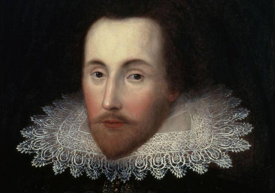 Retrato de William Shakespeare pintado em 1610