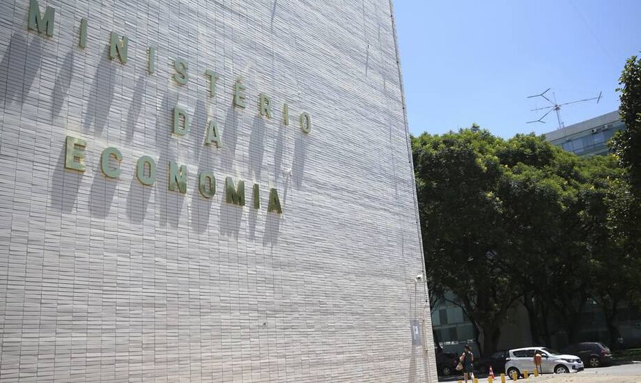 O Ministério da Economia, em Brasília