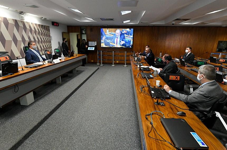 Sessão da CRA presidida por Nelsinho aprovou hoje convite à Ernesto Araújo e repúdio a Mike Pompeo dos EUA