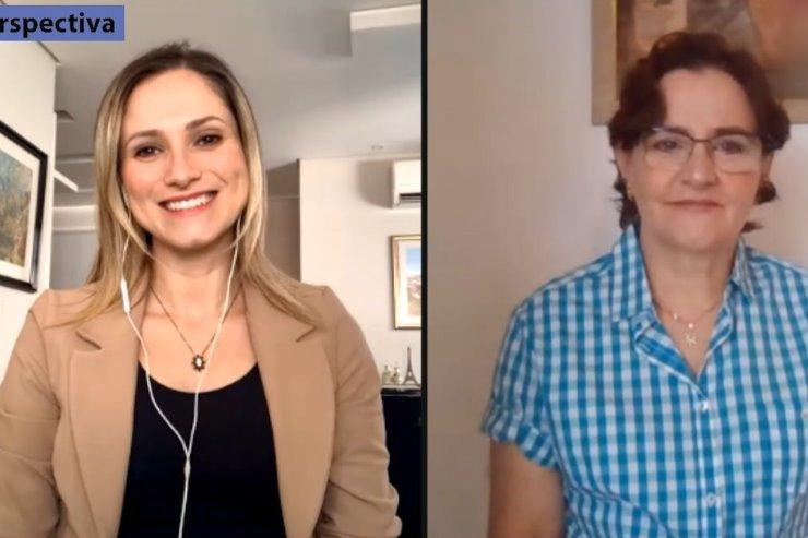 Coordenadora da Central Estadual de Transplantes de MS, Claire Miozzo, foi entrevistada pela TV ALEMS