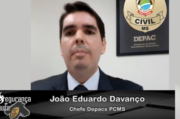 Chefe das Depacs é o entrevistado da semana do Programa Segurança em Pauta