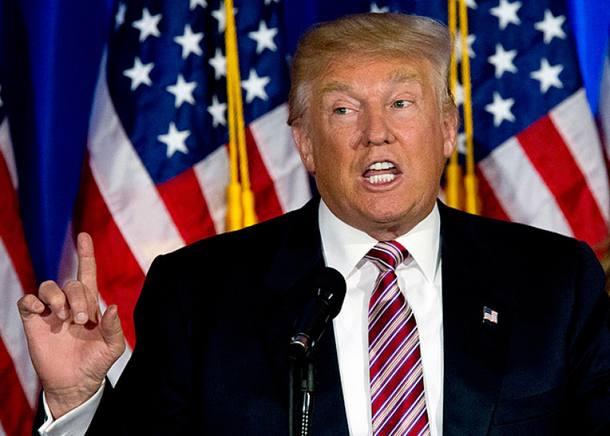 Presidente dos Estados Unidos, Donald Trump