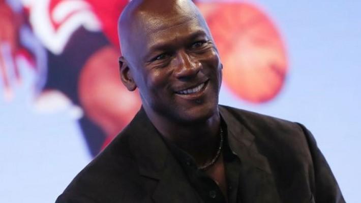 Astro do basquete Michael Jordan