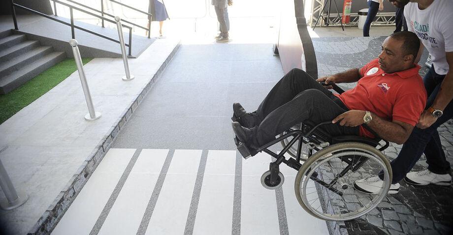 Conforme Sandro explica, a família tem um papel fundamental no desenvolvimento de uma pessoa com deficiência
