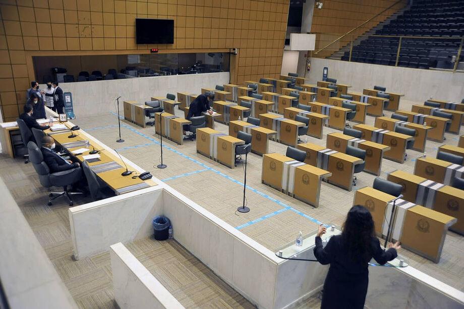 Sessões presenciais na Assembleia retornaram em 4 de agosto