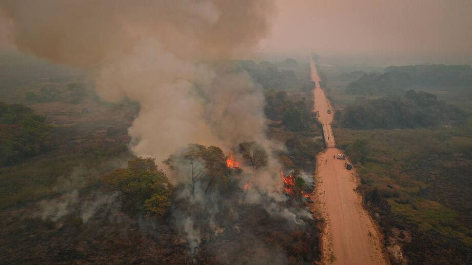 Mauro Mendes afirmou que o Mato Grosso está enfrentando uma das piores ondas de incêndio dos últimos anos