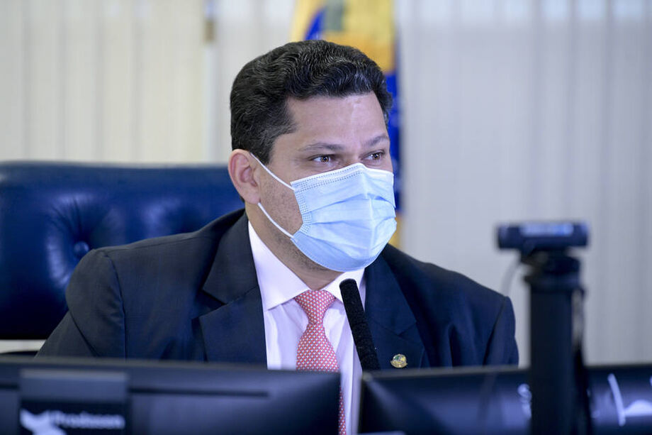 Davi Alcolumbre, presidente do Senado