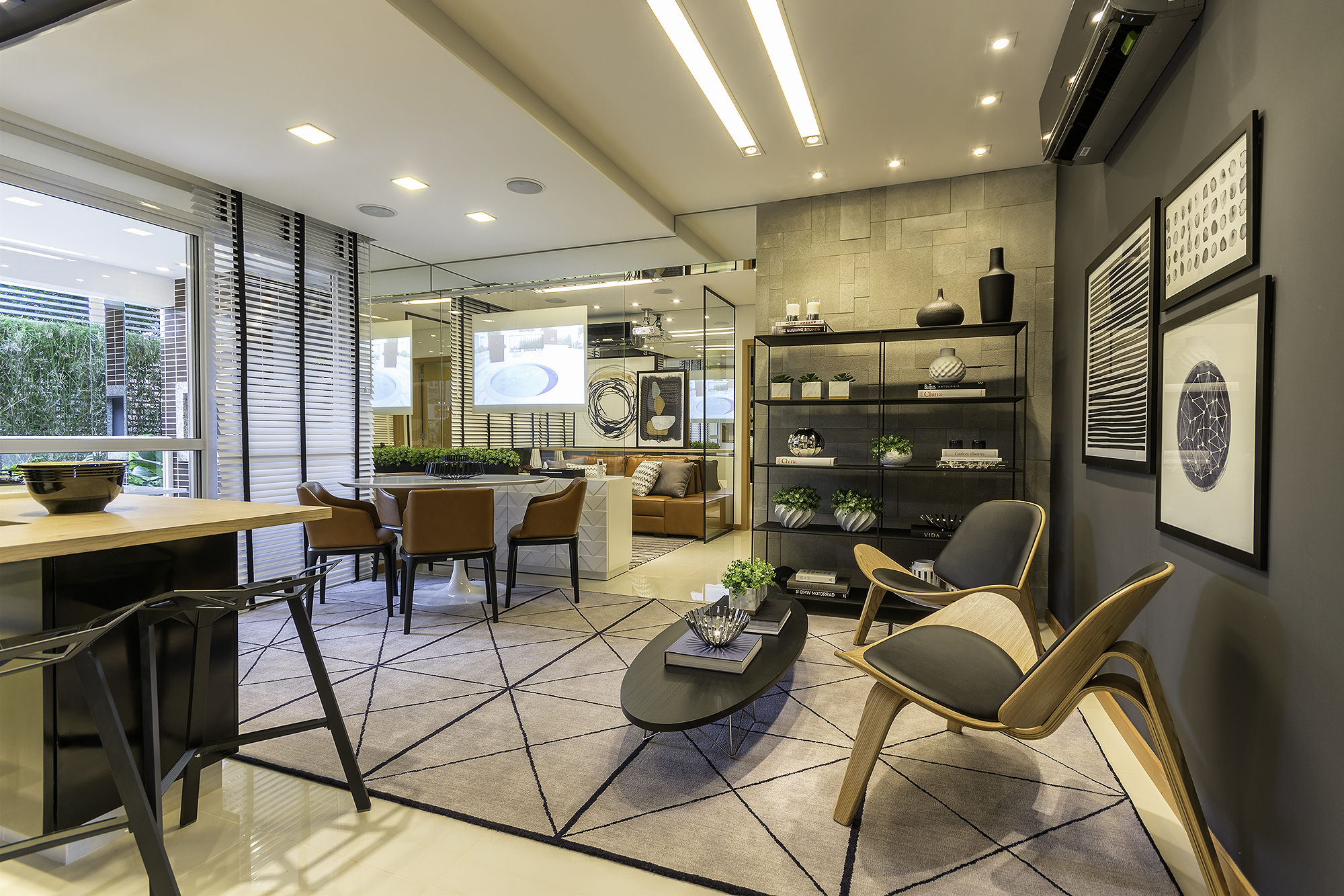 Apartamento Com Pe As Dos Anos 60 Tem O Cinza Como Cor Predominante
