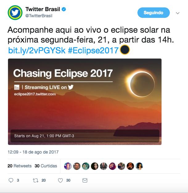 Segunda-feira há eclipse total do sol