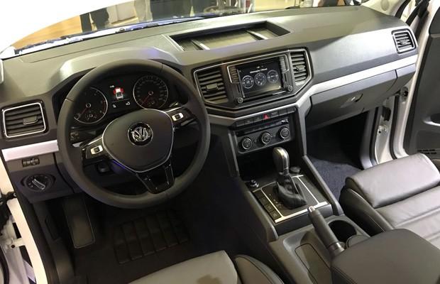 Volkswagen apresenta Amarok com motor V6