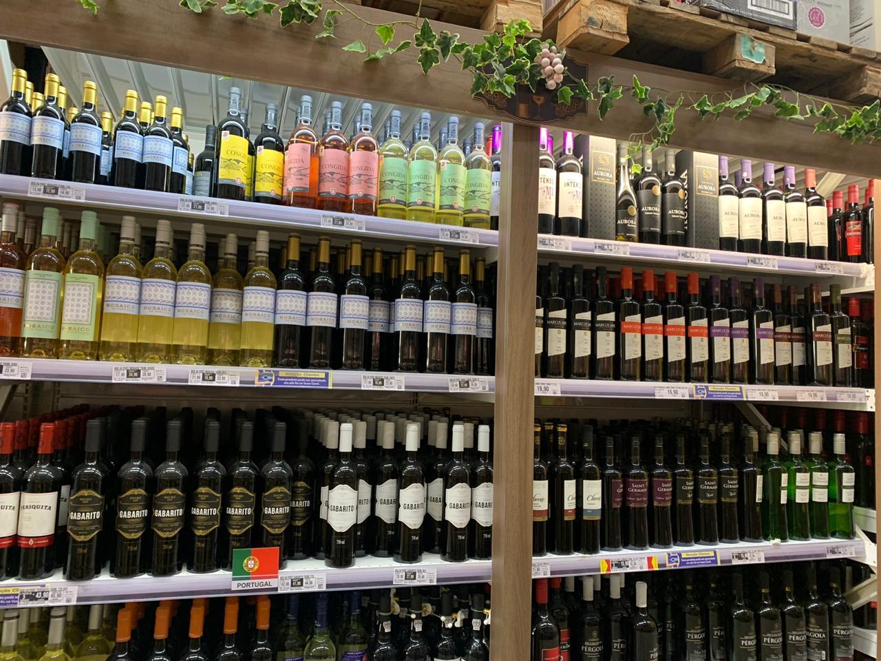 Fort tem opções de vinhos
