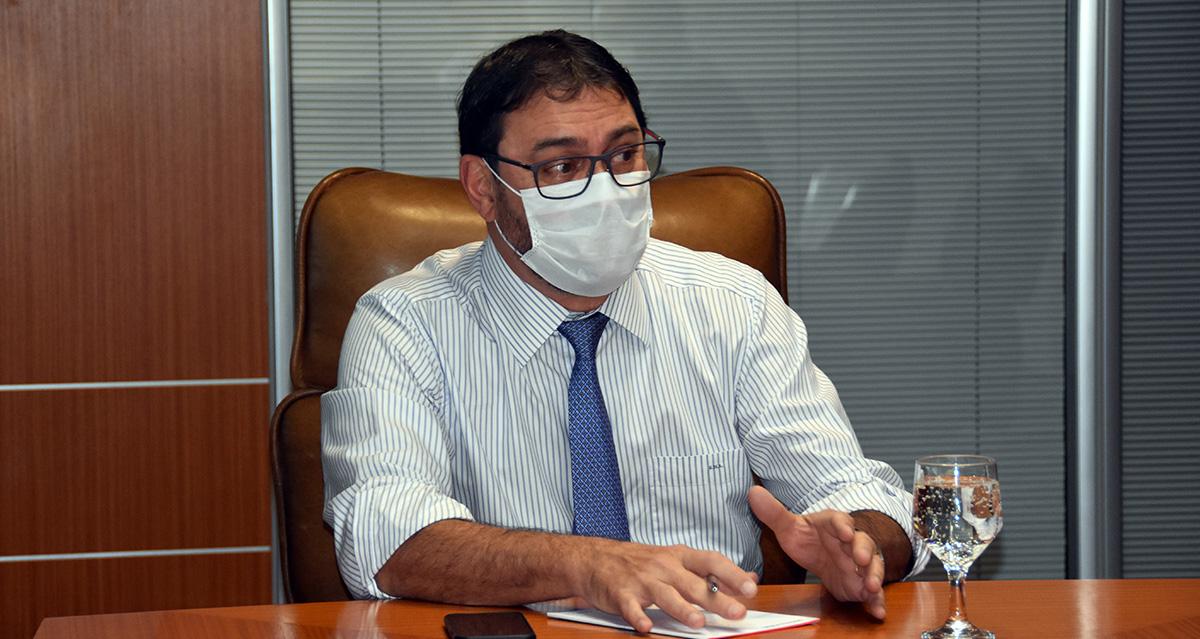 O presidente da Fiems, Sérgio Longen.