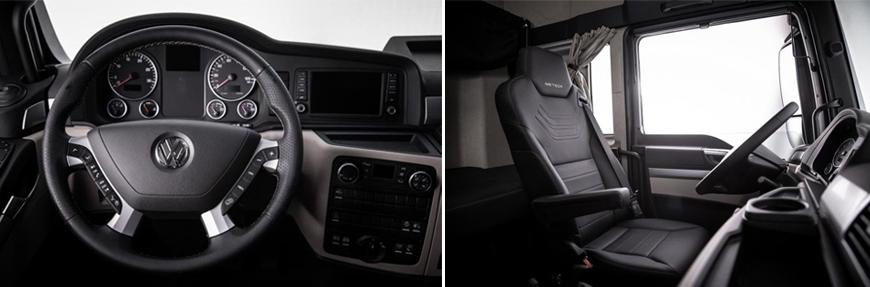 VW Meteor vem com volante multifuncional de série