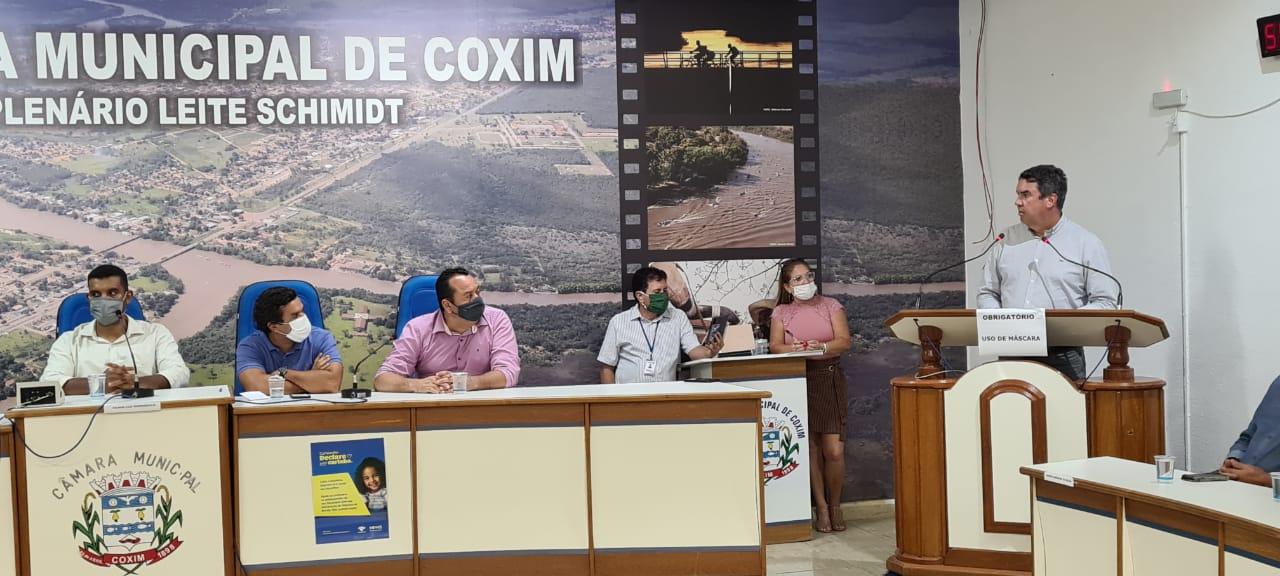 Riedel destacou principais obras em Coxim: Pavimentação e restauração da MS 223, reforma da pista do aeroporto municipal, construção do novo prédio da Polícia Militar e recuperação da Avenida Mato Grosso do Sul