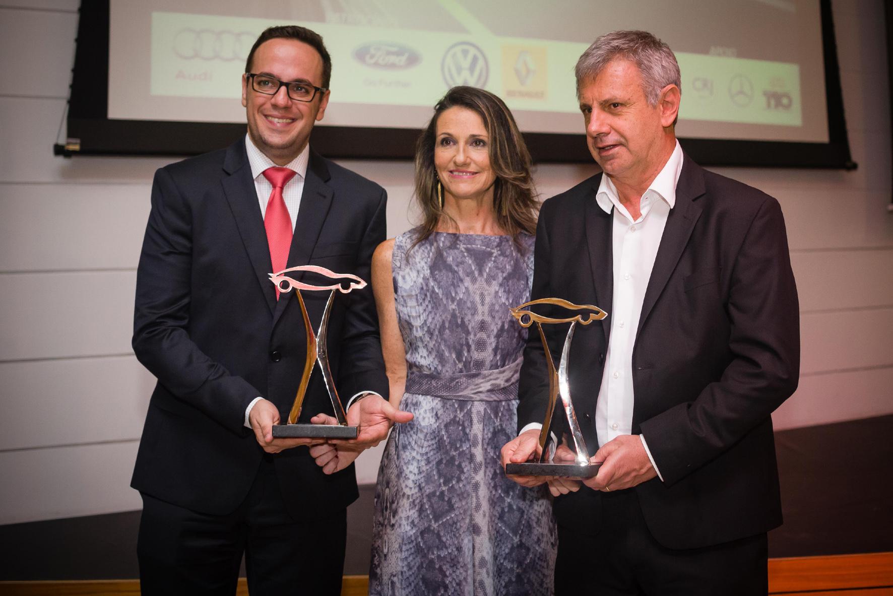 A Audi recebeu dois prêmios: Melhor nacional e Melhor Importado