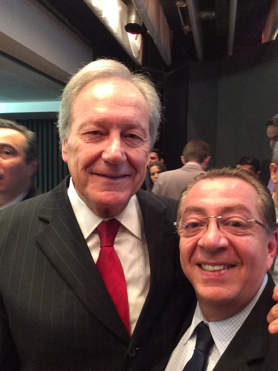 Mansouir com Ricardo Lewandowski, presidente do STF