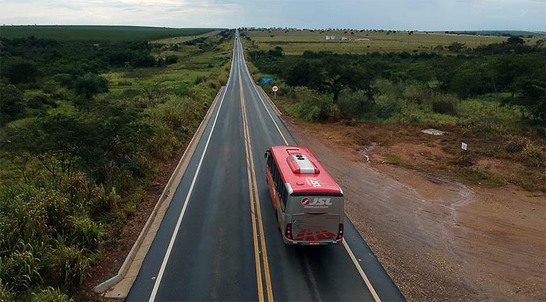 Rodovia MS-395 entre Bataguassu e Brasilândia: trecho de 66 km de um total de 526 km restaurados nos últimos 4 anos