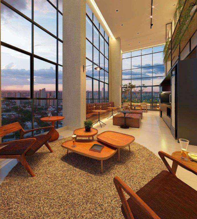 Skybar do Edifício residencial Três Meia Zero